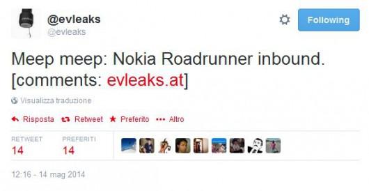 evleaks: Nokia Roadrunner