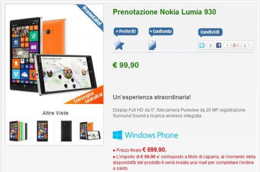 Nokia Lumia 930 su NStore