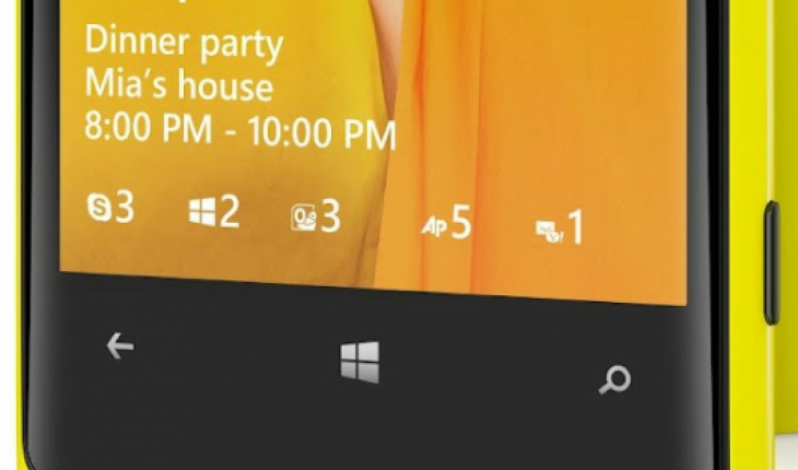 Lockscreen di Windows Phone