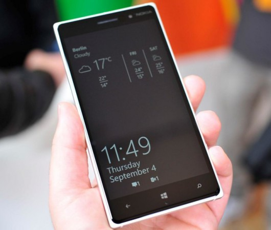 Nokia Glance con Lumia Denim