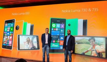 Nokia Lumia 830 e 730\735