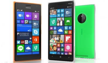 Lumia 735 e Lumia 830