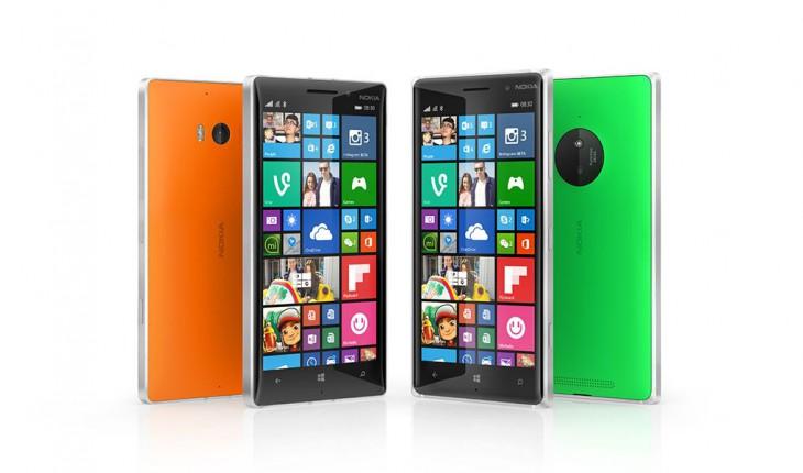 Nokia Lumia 930 e Nokia Lumia 830