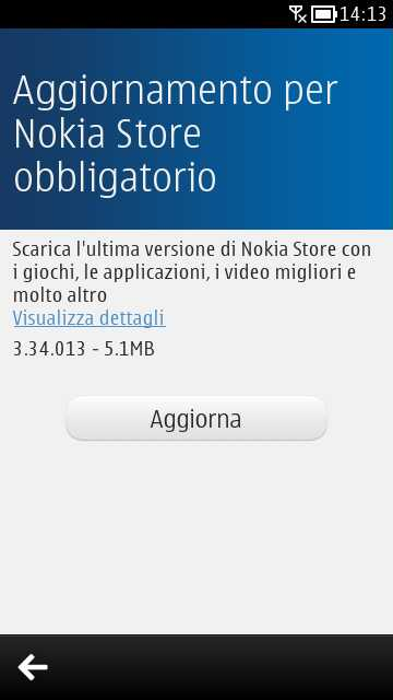 Update Nokia Store