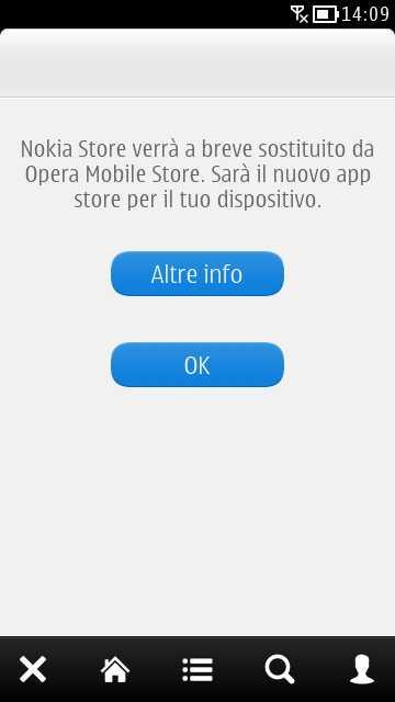 Migrazione a Opera Mobile Store