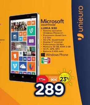 Nokia Lumia 930 in offerta
