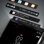 LG V10, doppio display