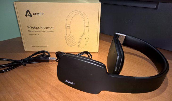 Aukey Cuffie Stereo Wireless