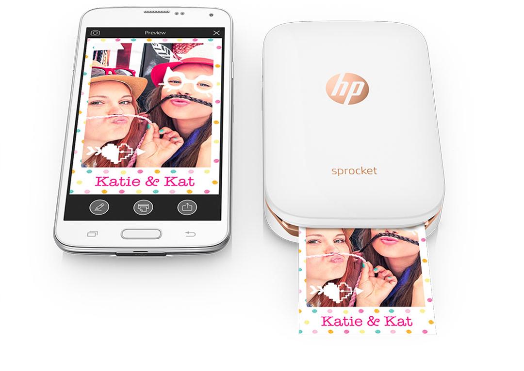 HP presenta Sprocket, la stampante di foto portatile senza cartucce di inchiostro o toner