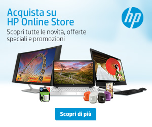Entra in HP Online Store