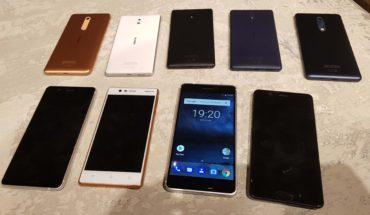 Nokia 6, Nokia 5 e Nokia 3