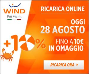 Wind - 10 Euro in omaggio