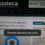 Opzioni Fotocamera - Panorama