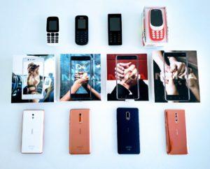 Prima linea di dispositivi di HMD Global