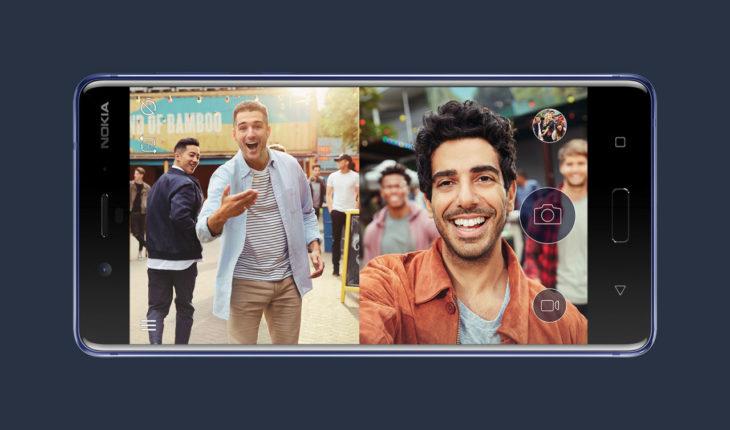 Nokia 8 - Dual-Sight Mode