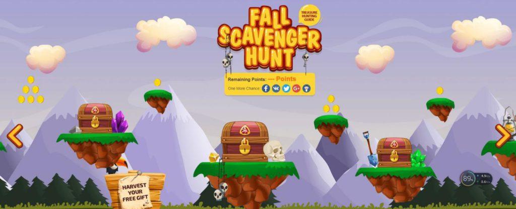 Fall Scavanger Hunt