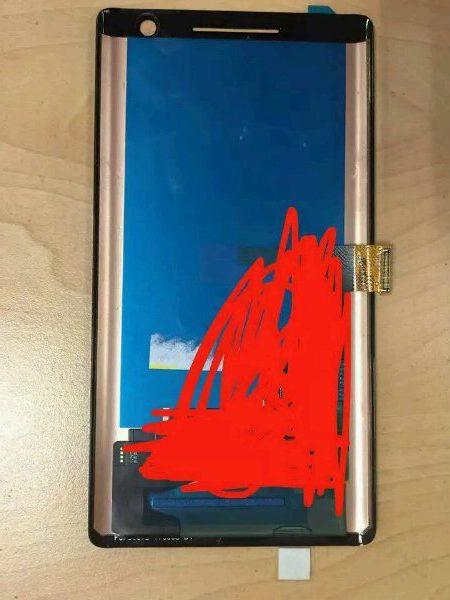 Pannello del Presunto Nokia 9