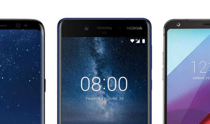Nokia 8 vs Samsung Galaxy S8 vs LG G6