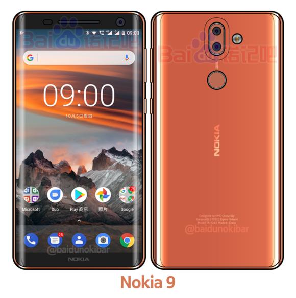 Render Nokia 9
