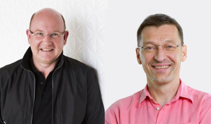 Florian Seiche e Pekka Rantala