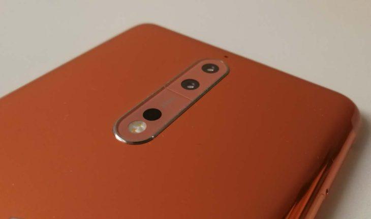 Nokia 8 (Rame Lucido)
