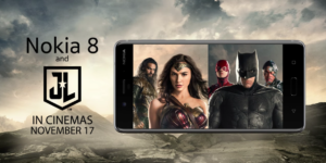 Nokia 8 e Justice League