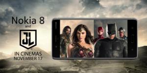 Nokia 8 e Justice League