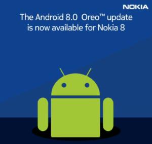Update Oreo Nokia 8