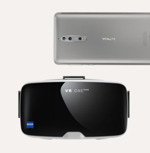 Nokia 8 con visore ZEISS VR ONE Plus
