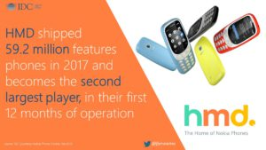 feature phone di HMD Global