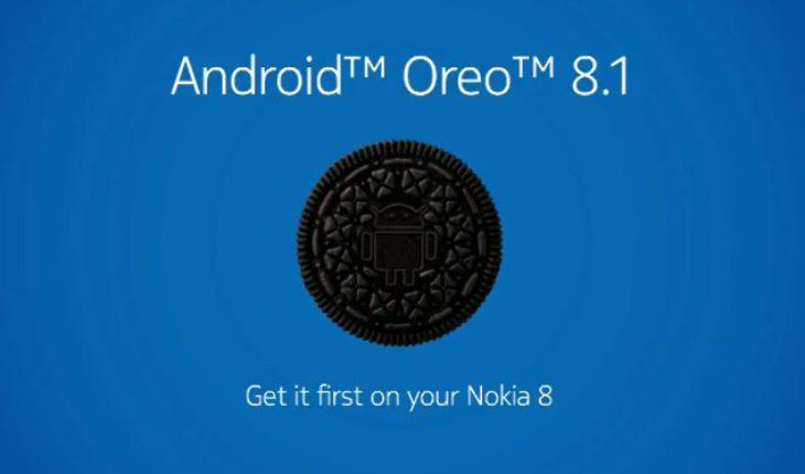 Android 8.1 Oreo per Nokia 8