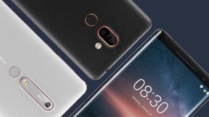 Nokia 6 2018 - Nokia 7 Plus - Nokia 8 Sirocco