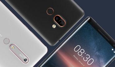 Nokia 6.1 - Nokia 7 Plus - Nokia 8 Sirocco