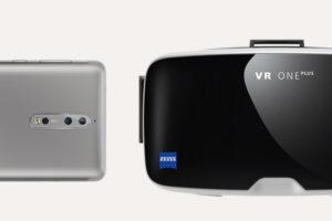 Nokia 8 + visore ZEISS VR ONE Plus