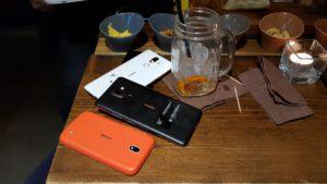 Nokia 1, Nokia 8 Sirocco e Nokia 7 Plus