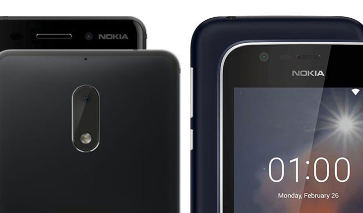 Nokia 6 e Nokia 1