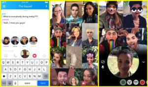 Snapchat - Video chat di gruppo