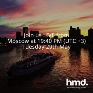 evento HMD Global di Mosca