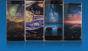 Nokia 6 1 - Nokia 7 Plus - Nokia 8 - Nokia 8 Sirocco