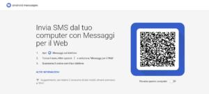 Messaggi per il web (Android Messaggi)
