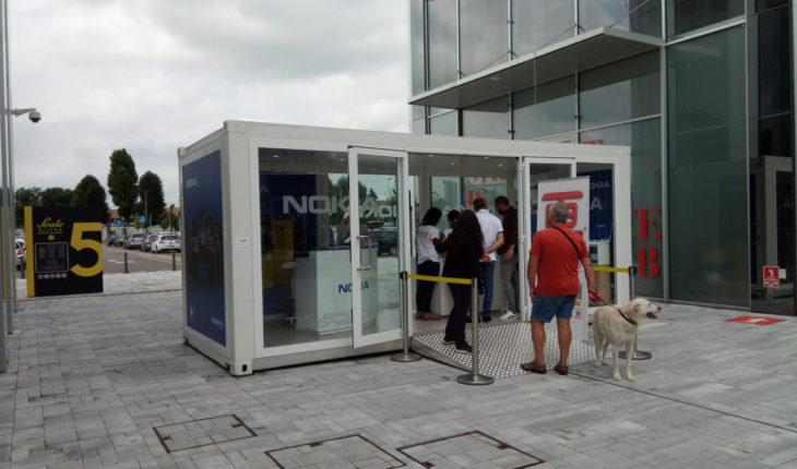 Temporary Shop Nokia