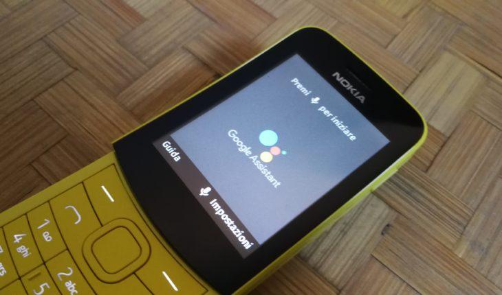 Assistente Google su Nokia 8110