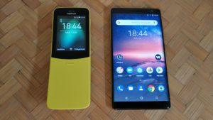 Nokia 8110 e Nokia 8 Sirocco