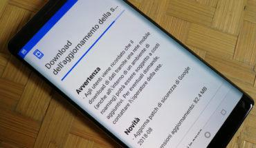 Nokia 8 Sirocco - Patch sicurezza 08-2018