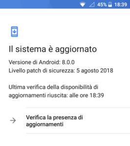 Nokia 3 - Patch Agosto 2018