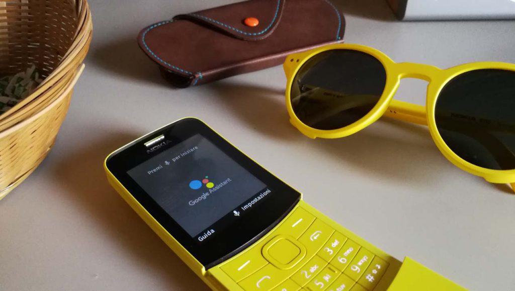 Nokia 8110 4G - Assistente Google