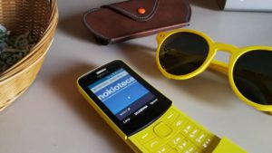 Nokia 8110 4G - Browser