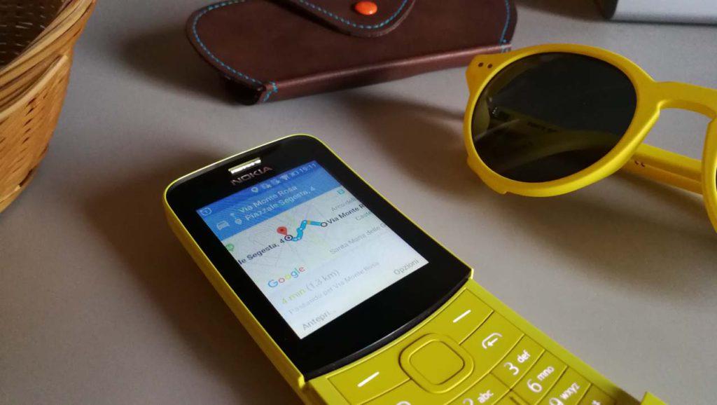 Nokia 8110 4G - Maps