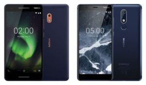 Nokia 2.1 e Nokia 5.1