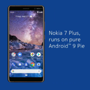 Android 9 Pie per Nokia 7 Plus